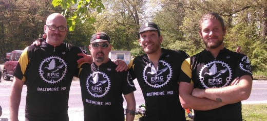 The Epic Team at the Ride for the Feast 2015