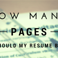 how many pages should my resume be and 12 principles behind that - How Many Pages Should A Resume Be