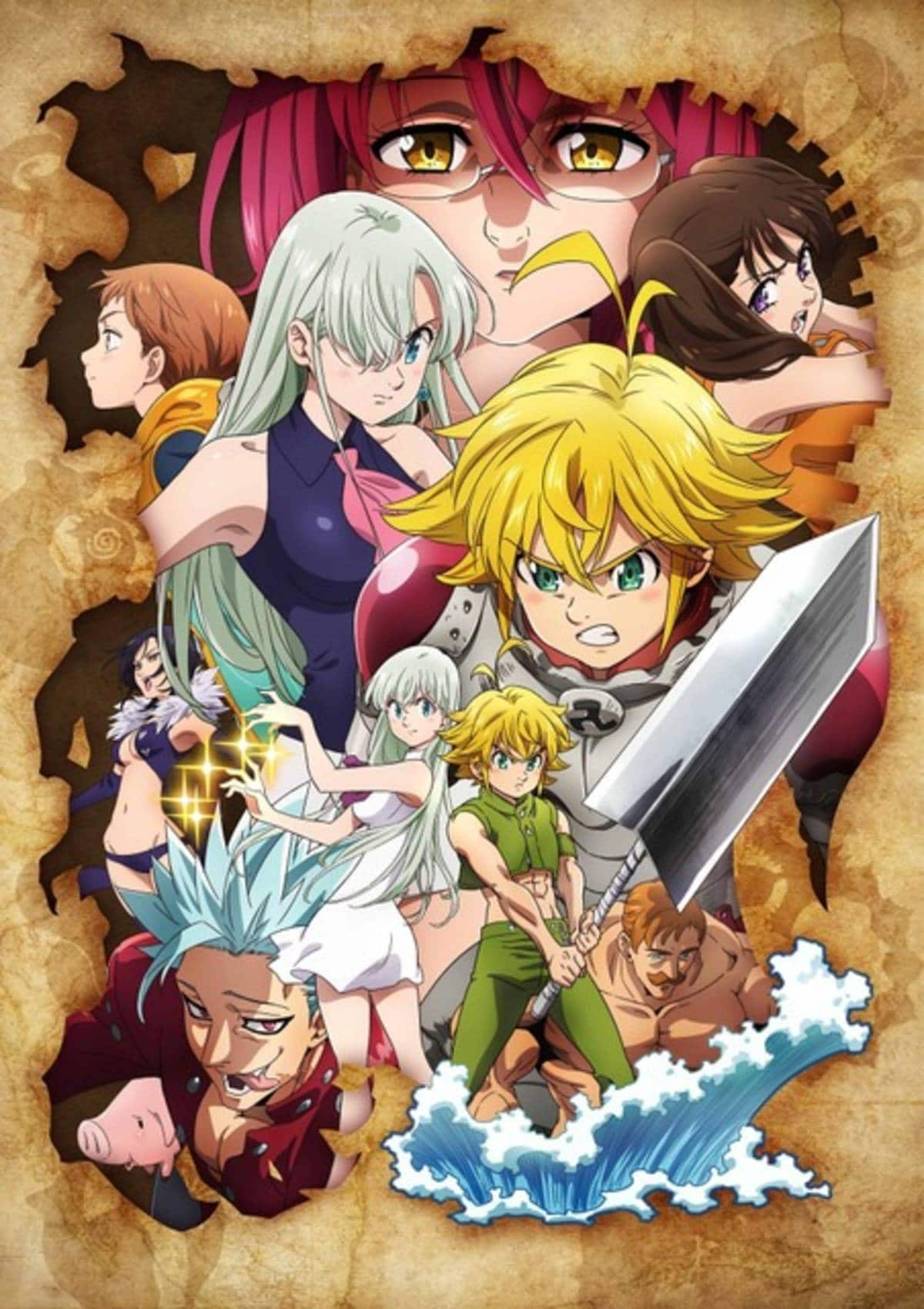 Seven Deadly Sins Streaming : seven, deadly, streaming, Netflix, Stream, Seven, Deadly, Season, August