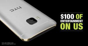 HTC $100 Play Store Promotion