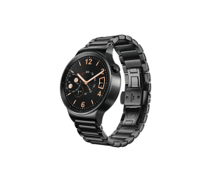 Huawei Watch - Black Stainless Steel