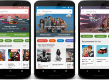 Google Play Store Redesign