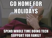 Holiday Tech Support