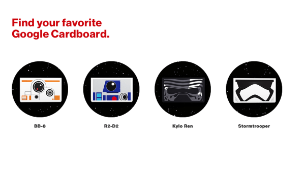 Star Wars Google Cardboard - Choose Your Favorite