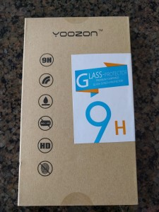 Yoozon Tempered Glass Screen Protector - Packaging