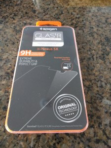 Spigen Tempered Glass Screen Protector - Packaging