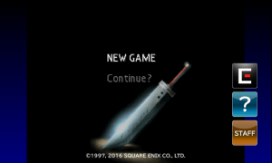 Final Fantasy 7 - New Game