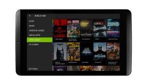NVIDIA SHIELD Tablet - SHIELD Hub