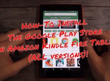 Google Play Store on the Kindle Fire Tablet