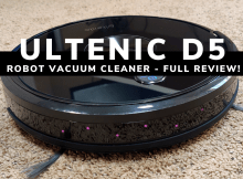 Ultenic D5 Robot Vacuum Cleaner - Full Review
