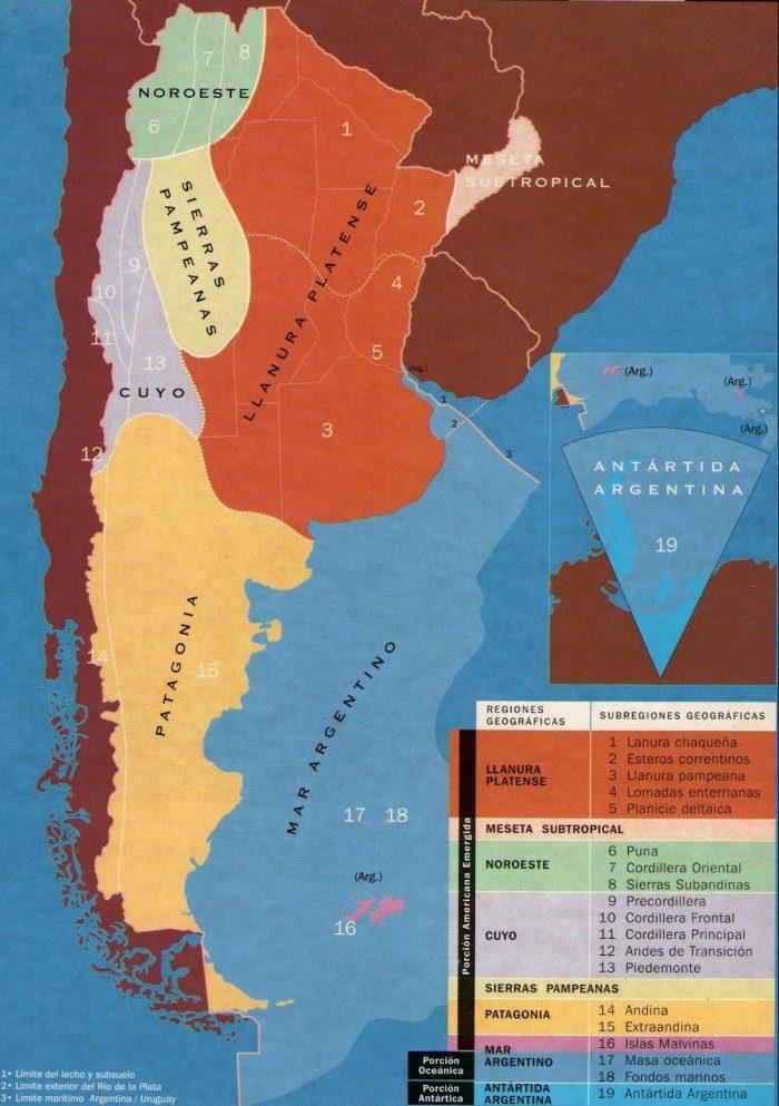 Regiones Geográficas De Argentina Y Sus Características Epicentro