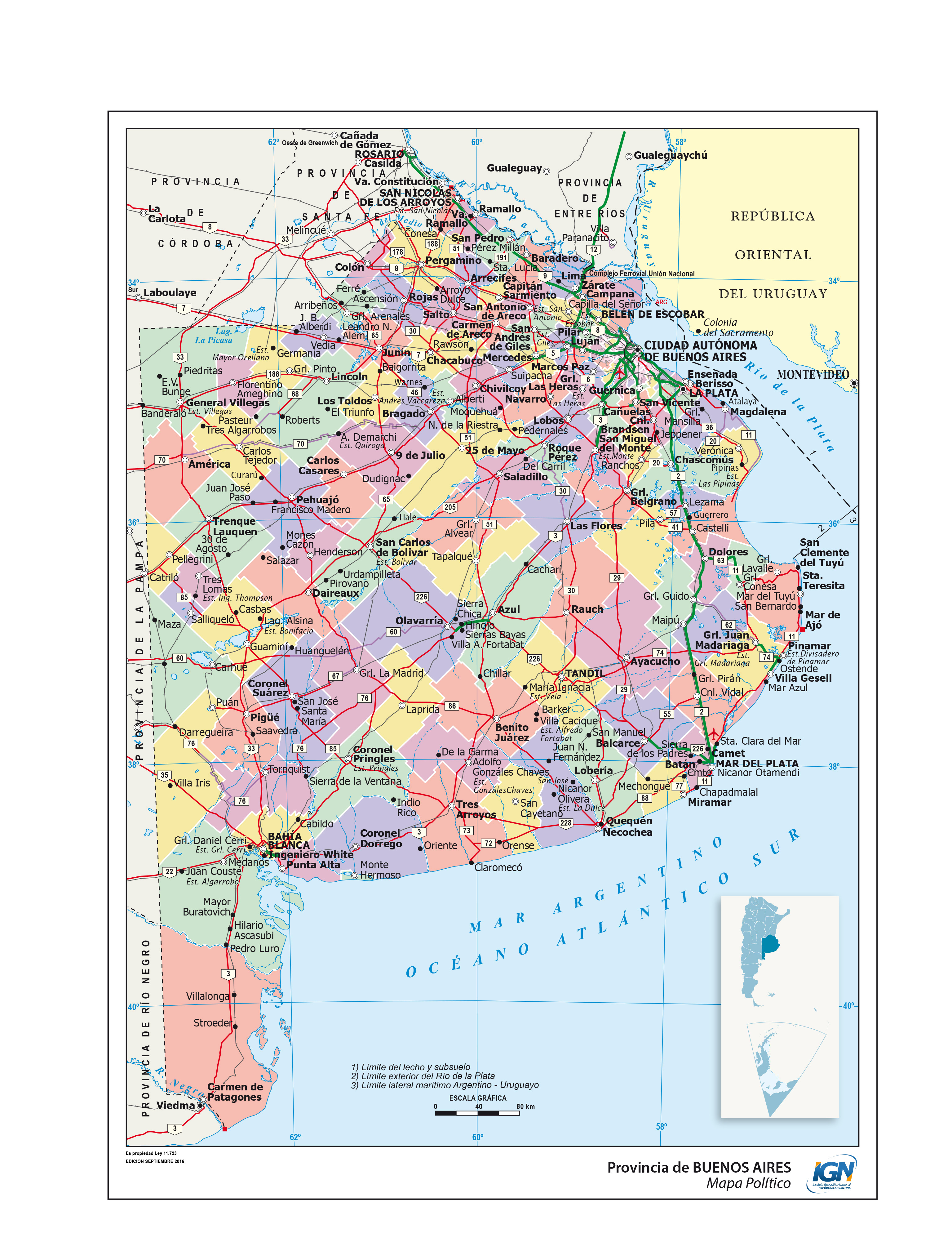 Mapas De La Provincia De Buenos Aires Epicentro Geografico