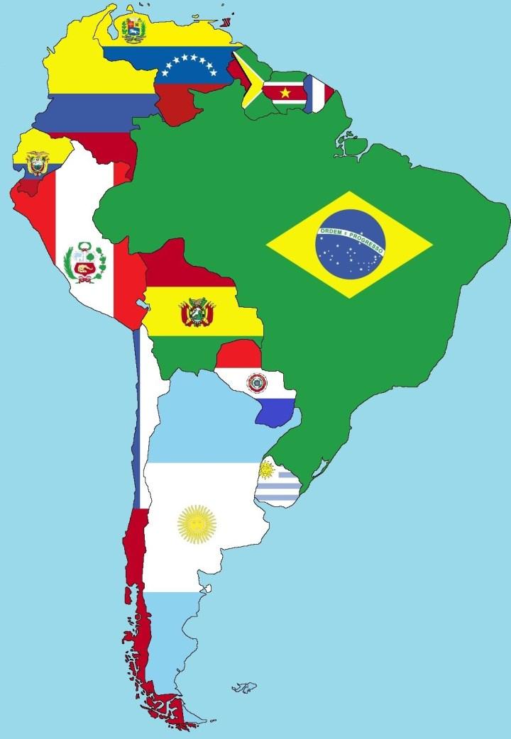 Mapa De Sudamerica Paises.Cuales Son Los Paises Que Forman Sudamerica Epicentro