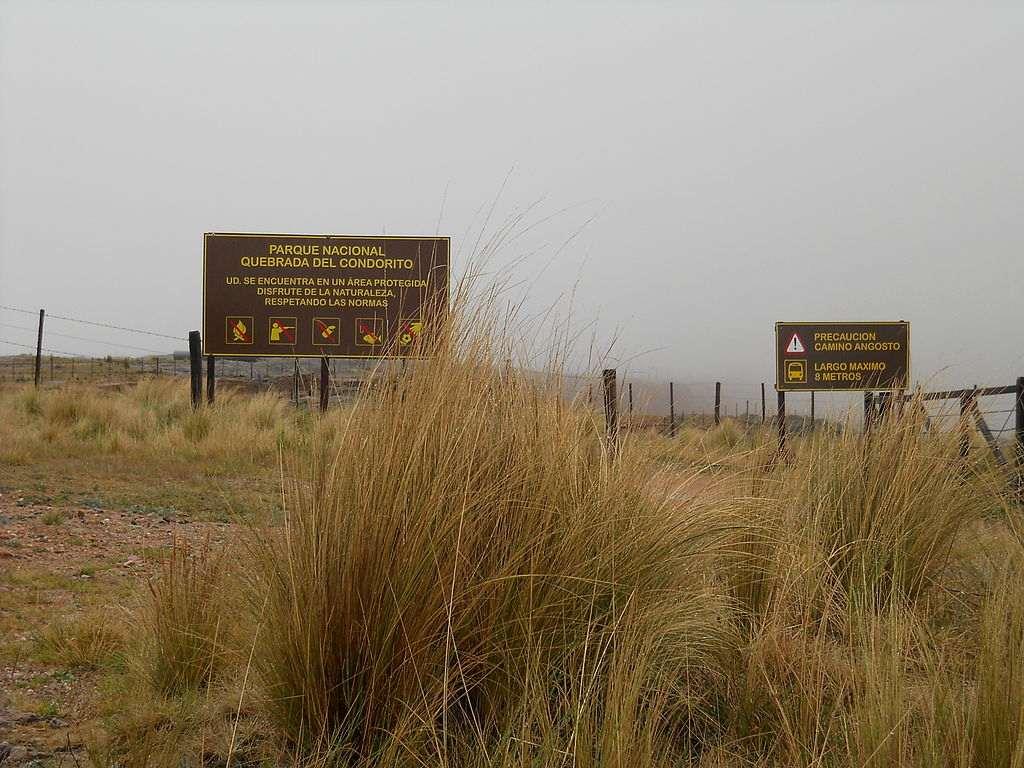 Parque Nacional Quebrada del Condorito Cordoba Argentina