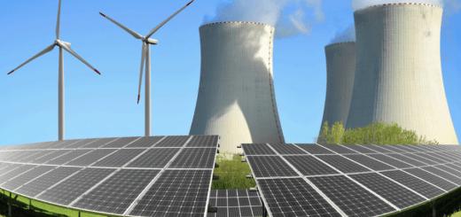 energía solar nuclear central energía eléctrica usina generacion