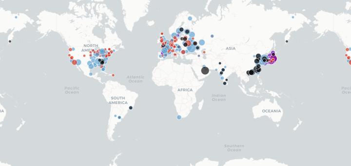 cantidad de centrales nucleares mapa mundi mapa mundial de centros nucleares chernobyl fukushima argentina ukrania japon