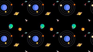 Espacio y Planetas Fondo para Celular 3