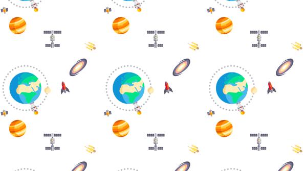 Mundo y Espacio Fondo de Pantalla