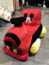 Sofa Kereta Karakter Mickey 65x40