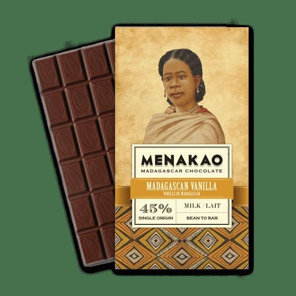 Menakao chocolat au lait 45 vanille de madagascar - Epices Mille Saveurs