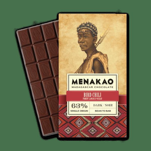 Menakao chocolat noir 63 piment langue doiseau - Epices Mille Saveurs