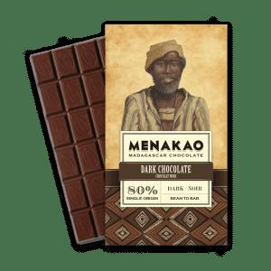 Menakao chocolat noir 80 chocolat noir - Epices Mille Saveurs