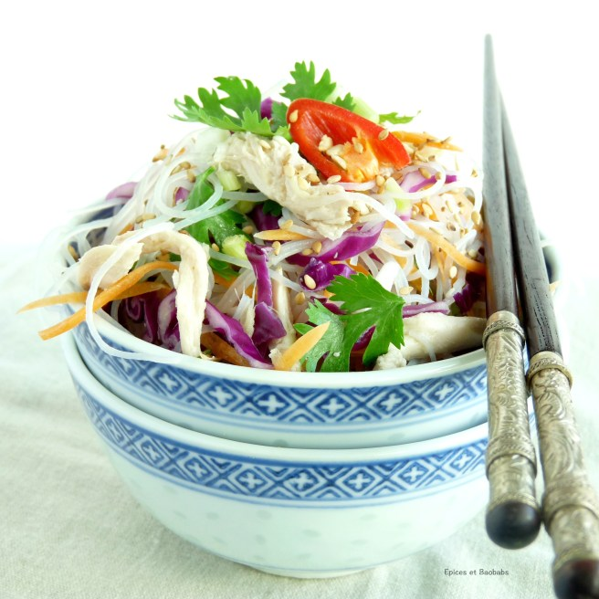 EB Vietnamese Chicken salad