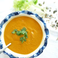 Creamy Tomato & Orange Soup