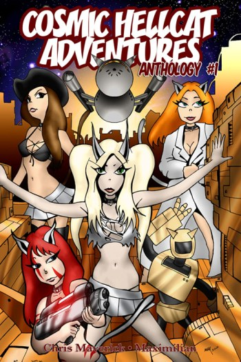 Epic Fail webcomic Interview with Cosmic Hellcats