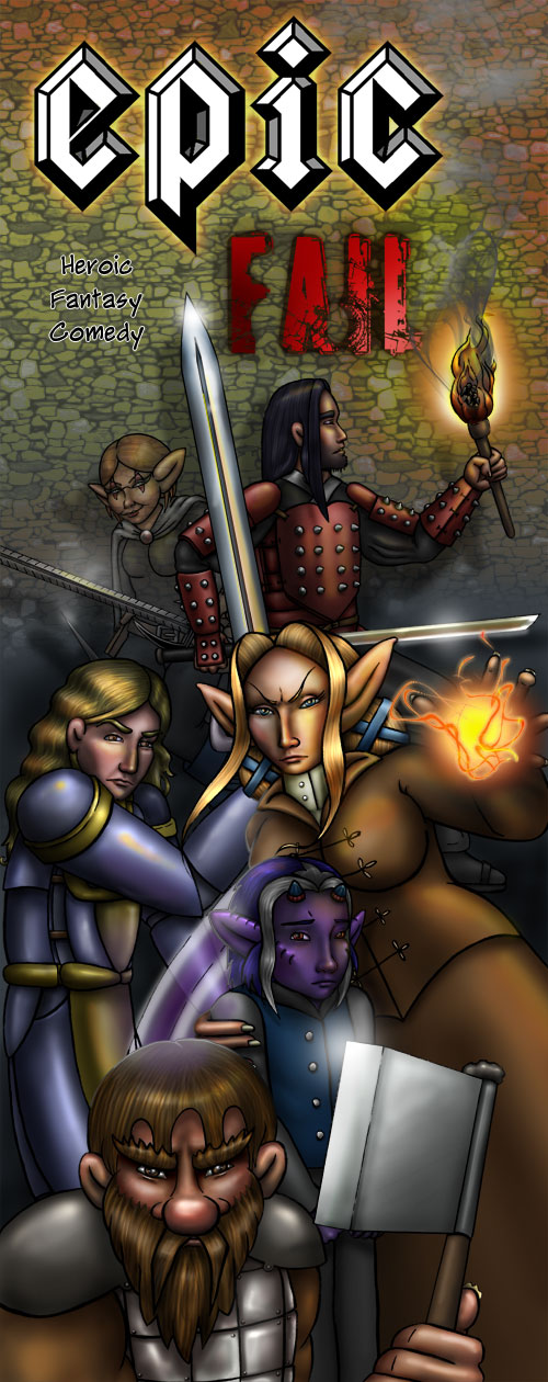 Comic of Epic Fail - A Heroic Fantasy Comedy based on D&D