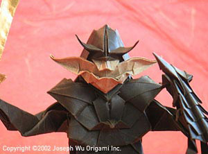 Origami Goblin - Fantasy Gaming Miniature by Joseph Wu