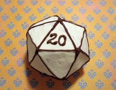 D20 cake