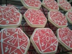 D20 cookies