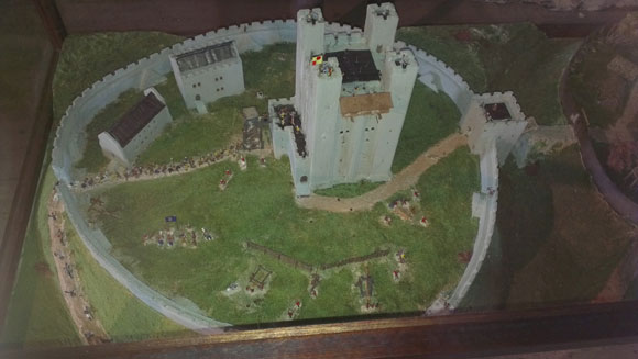 Hedingham Castle Model