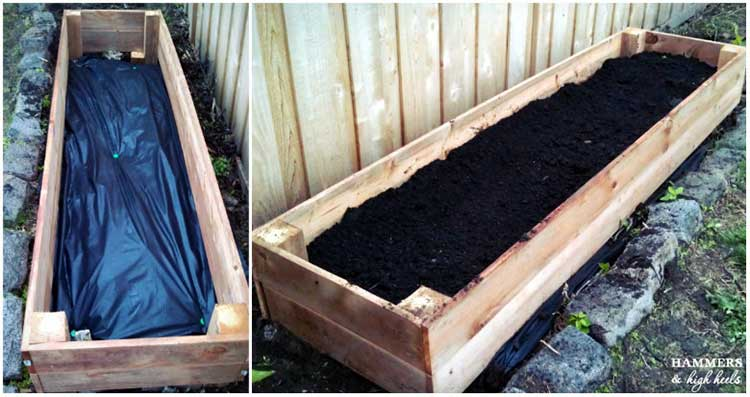 Raised Cedar Garden Box Plans