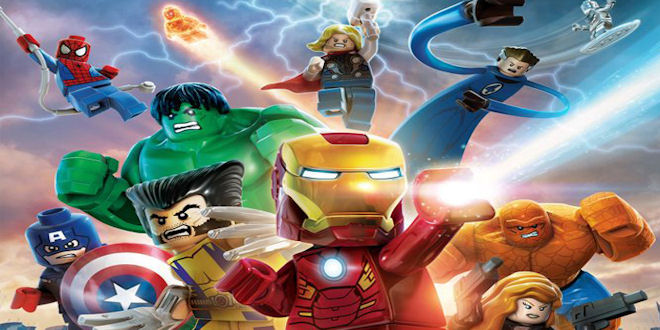 Marvel Lego Heroes