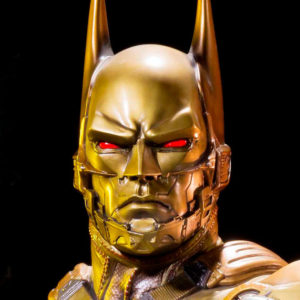 Batman Beyond Gold Statue