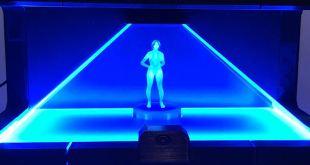 Halo Holographic Cortana