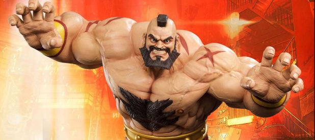 Street Fighter Statues