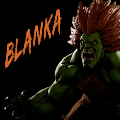Street Fighter Blanka 1:6 Scale Statue - PCS Collectibles