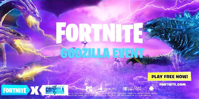 Fortnite Godzilla - New Special Event - Video Game News