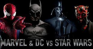 MARVEL & DC vs STAR WARS