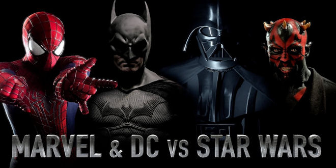 Marvel DC Star Wars -  Excellent Fan Made Film by batinthesun