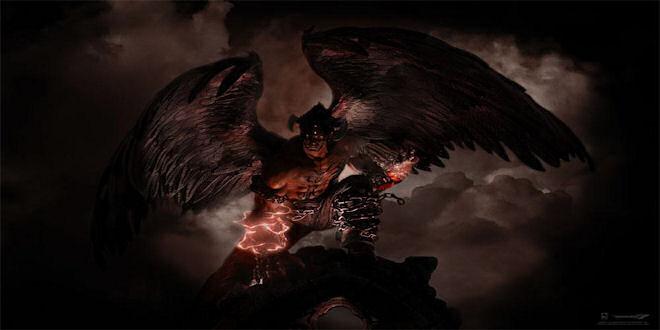 Tekken Statue 1 4 Devil Jin W Led Lights Feature By Purearts