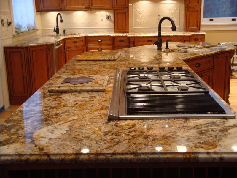 Average Cost Of Granite Countertop 11 Different Types Of Kitchen Countertops - Buying Guide