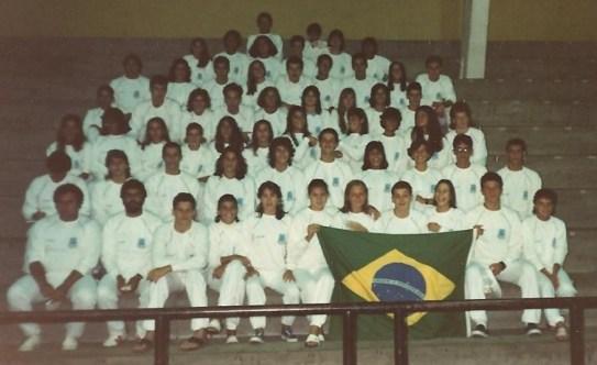 Seleção no Sulamericano 1987.