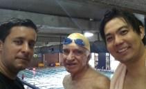 Eu, Sr. Flavio e Sidney Nakahodo
