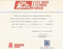 50m livre Diploma