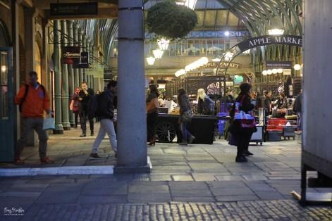 Apple Market at Night