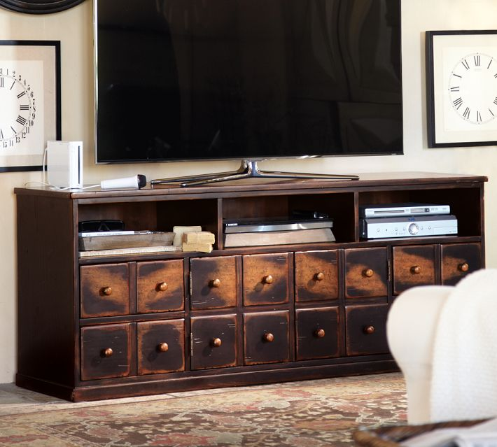DIY Pottery Barn Apothecary Media Cabinet  epiclaughter